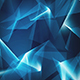Blue Shiny Abstract Geometrical Refraction - VideoHive Item for Sale