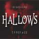 Hallows Typeface - GraphicRiver Item for Sale