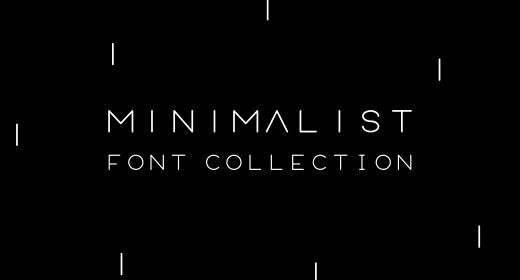 minimalis font