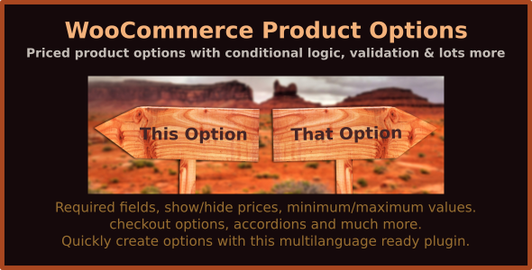 WooCommerce Product Options - priced product options with conditional logic, validation & lots more - CodeCanyon Item for Sale