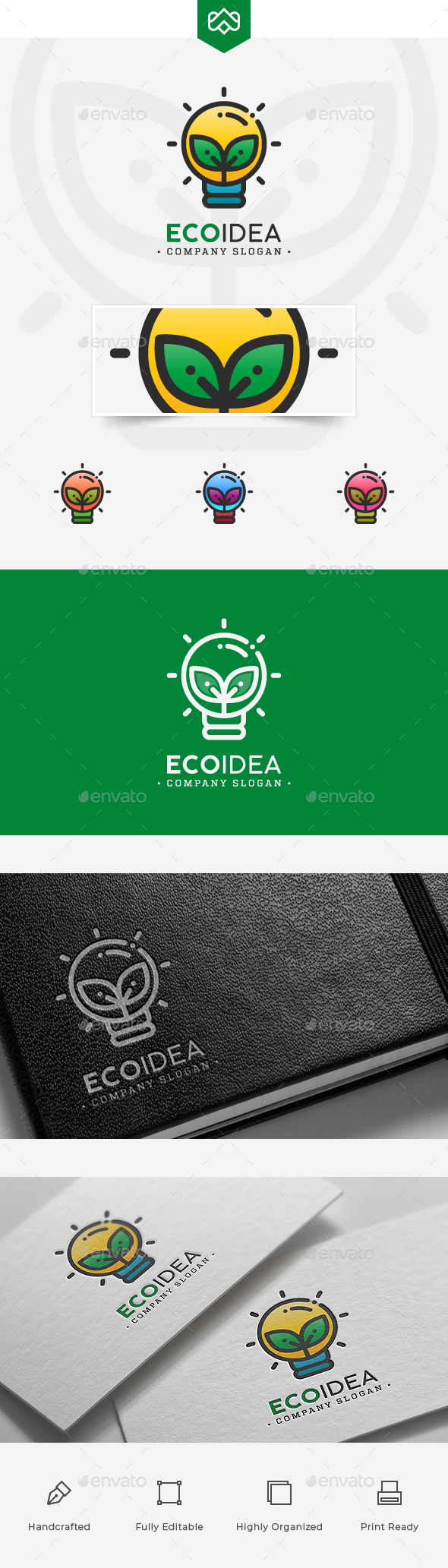 Eco Idea Logo - Nature Logo Templates