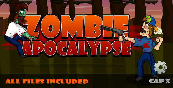 Zombie Apocalypse - (CAPX & HTML) Game! - CodeCanyon Item for Sale