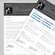 Sharp Resume and Cover Letter - Indesign Template - GraphicRiver Item for Sale