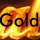 3d Gold Titles and Logo. NO PLUGINS. - VideoHive Item for Sale