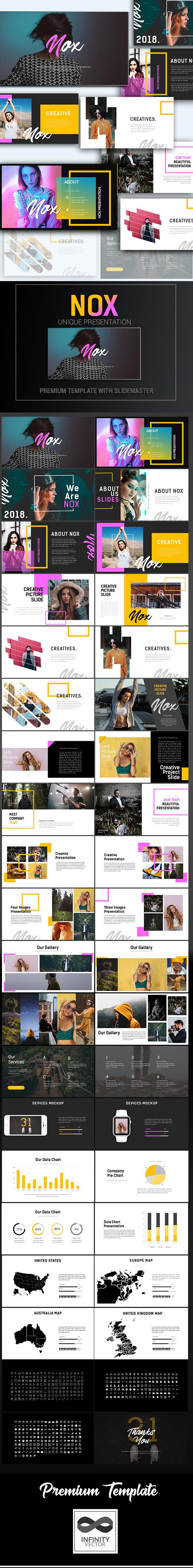 Nox Creative Presentation - PowerPoint Templates Presentation Templates