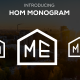 HOM MONOGRAM - GraphicRiver Item for Sale