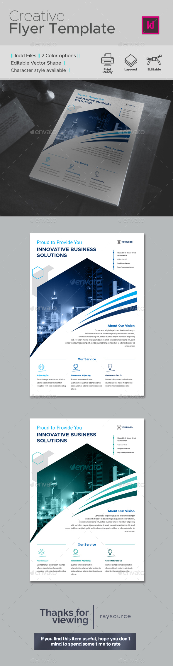 Creative Flyer - Corporate Flyers