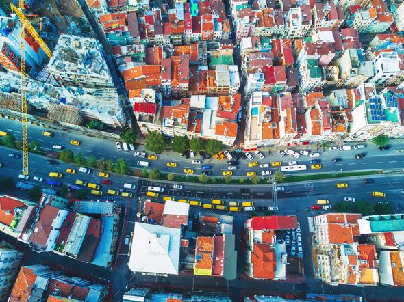 Cityscape Istanbul, Turkey - Stock Photo - Images