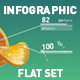 Infographic flat set - VideoHive Item for Sale