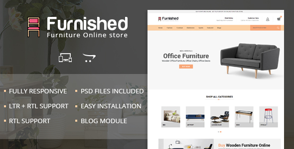 Image of Furnished - OpenCart 2 & 3 Responsive Theme