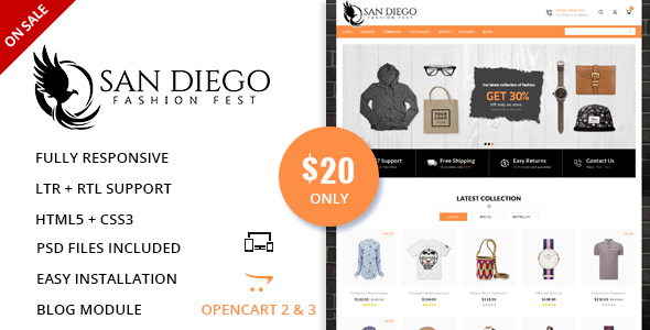 Image of Fashion Fest - OpenCart Responsive Theme
