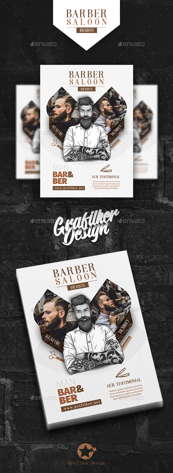 Barber Flyer Templates - Corporate Flyers