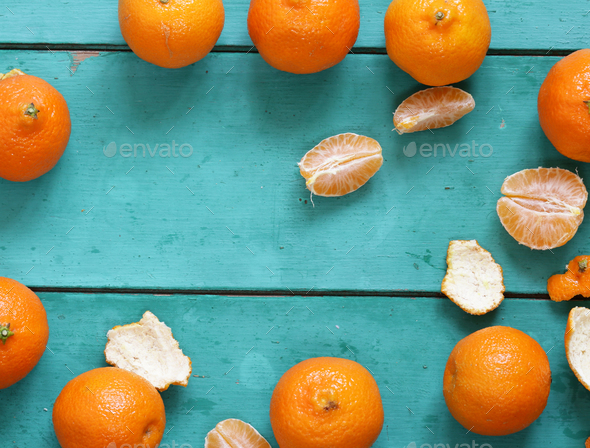 Mandarins - Stock Photo - Images