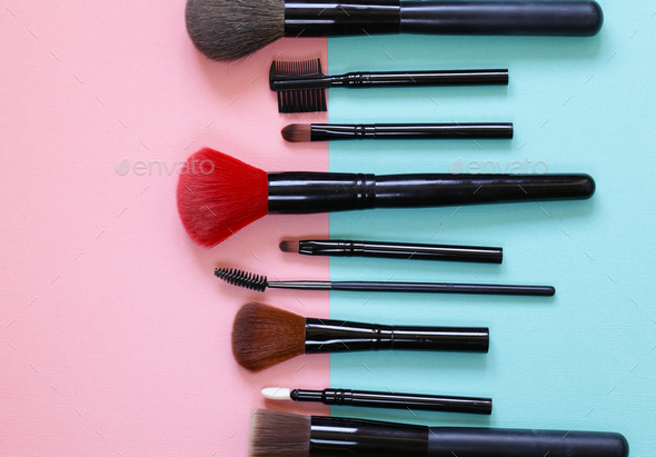 Makeup Brushes - Stock Photo - Images