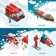 Arctic Polar Station Isometric Concept