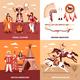 American Indians 2x2 Design Concept