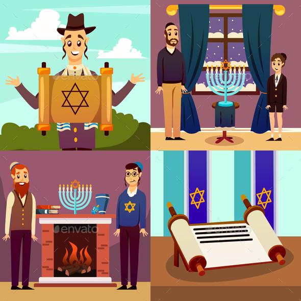 Jewish Nation Design Concept - Religion Conceptual