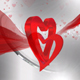 Heart Shaped Valentine Day Background - VideoHive Item for Sale