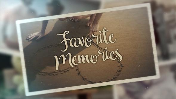 Videohive Favorite Memories 21490652
