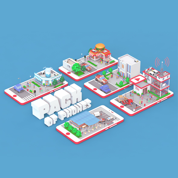 agency, broadcast, building, business, business center on phone screen, cartoon company on phone screen, communication, department, employment, factory, firm, industrial, job, low poly, low poly building, low poly house, low poly office, low poly office on phone screen, low poly people, music, office on phone screen, radio station, service, station, store, work