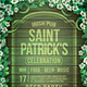 Saint Patrick's Celebration Flyer - GraphicRiver Item for Sale