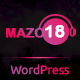 Mazo18 Night Club WordPress Theme - ThemeForest Item for Sale
