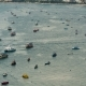 Floating Many Ships and Boats in the Sea. . Thailand. Pattaya - VideoHive Item for Sale