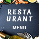 Minimalist Restaurant Menu - GraphicRiver Item for Sale