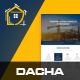 Dacha - Construction PSD Template