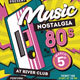 80's Music Event Flyer - GraphicRiver Item for Sale