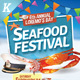 Seafood Festival Flyer Templates - GraphicRiver Item for Sale