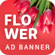 Flower Shop | AD Banner Template HTML5