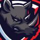 Rhinos Esports Mascot Logo - GraphicRiver Item for Sale