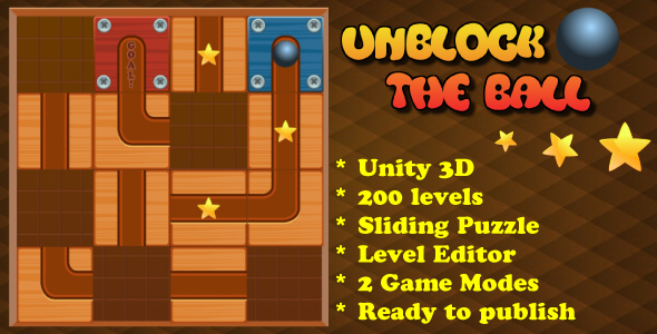 Unblock The Ball Sliding Puzzle - CodeCanyon Item for Sale