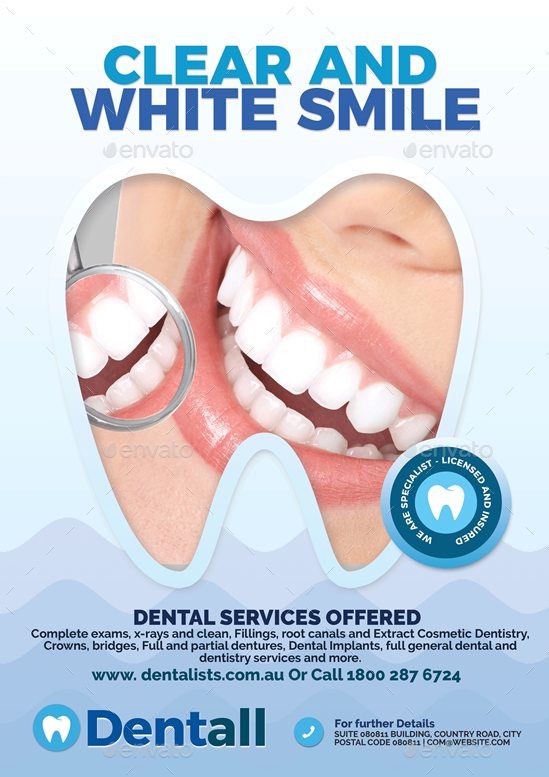 Dentistry Clinic Flyer