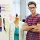 Male Fashion Designer In Studio - PhotoDune Item for Sale