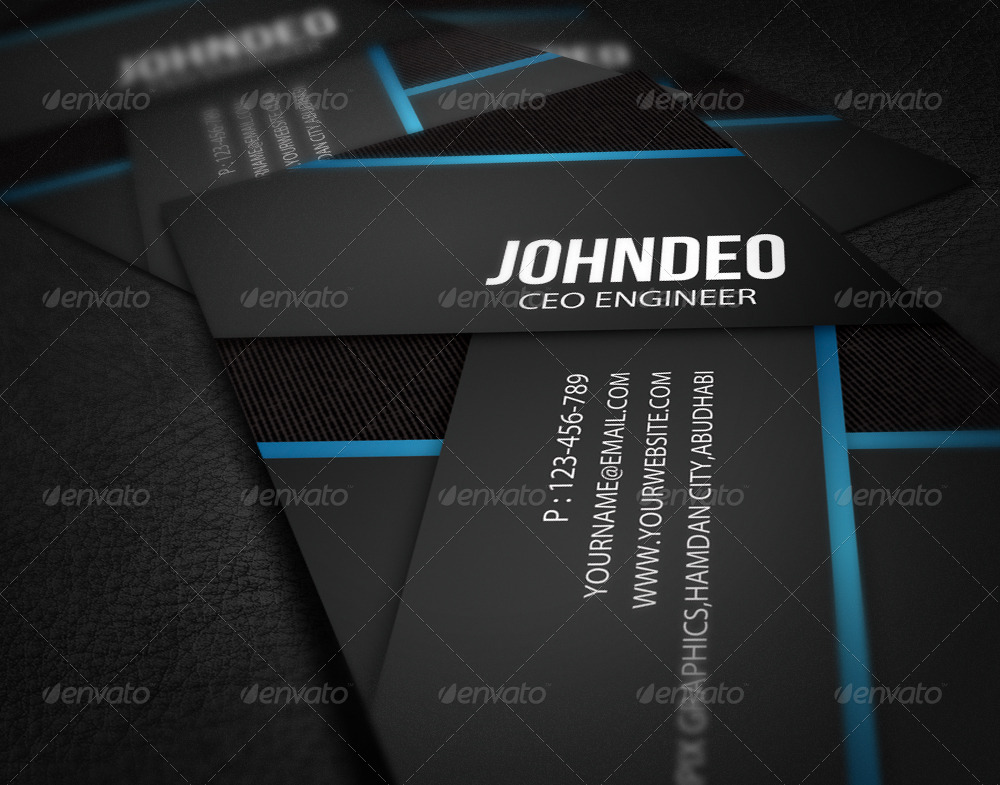 Information technology business card by axnorpix graphicriver information technology business card cheaphphosting Image collections