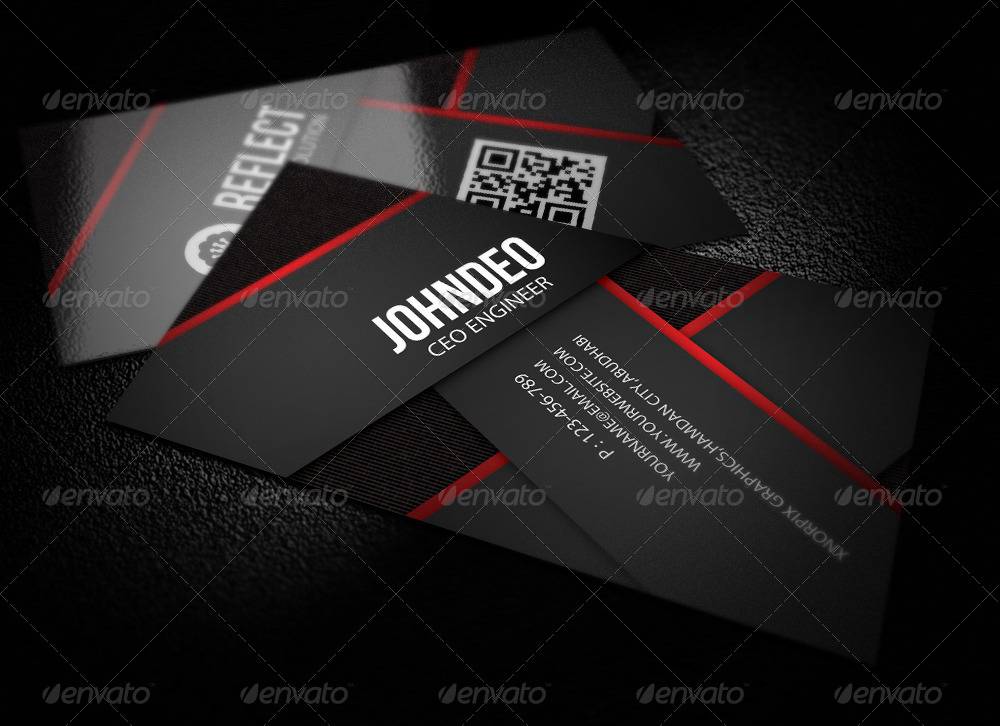 Information Technology Business Card by -axnorpix | GraphicRiver
