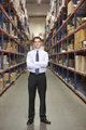 Portrait Of Manager In Warehouse - PhotoDune Item for Sale