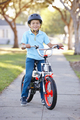 Boy Wearing Safety Helmet Riding Bike - PhotoDune Item for Sale