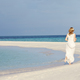 Bride With Bridesmaid At Beautiful Beach Wedding - PhotoDune Item for Sale