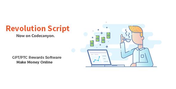 Revolution Script - GPT/PTC Rewards Software