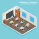 School and Learning Isometric Concept with Teacher - GraphicRiver Item for Sale