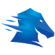Tessellated Horse Logo