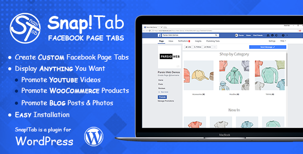 Snap!Tab - Custom Facebook Page Tabs - CodeCanyon Item for Sale