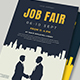 Job Fair Flyer Template 02 - GraphicRiver Item for Sale