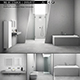 Bathroom furniture set ME by Starck Duravit