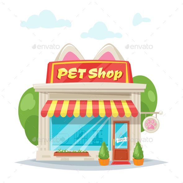 Pet Shop - Animals Characters