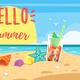 Hello Summer Banner