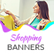 Shopping Banners - GraphicRiver Item for Sale